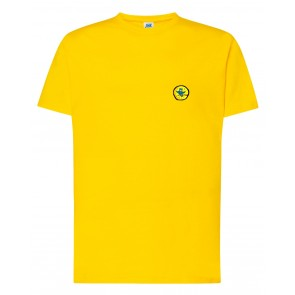 Meeste T-särk, kollane