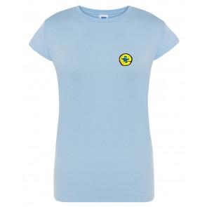 Naiste T-särk, helesinine
