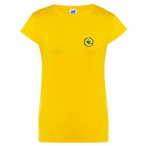 Naiste T-särk, kollane